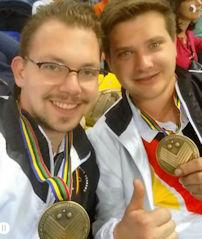Raphael Gharany und Moritz Rosik