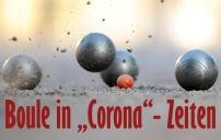 Boule in Corona-Zeiten